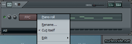 Edit the Piano Roll in FL Studio