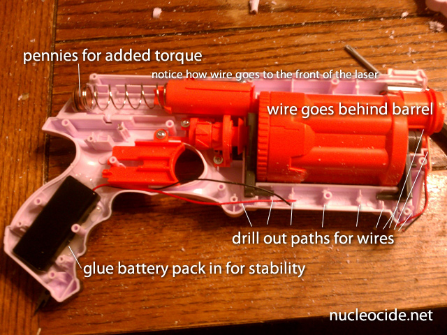 Diagram Of A Nerf Gun - Information Schematics Wiring Diagrams on