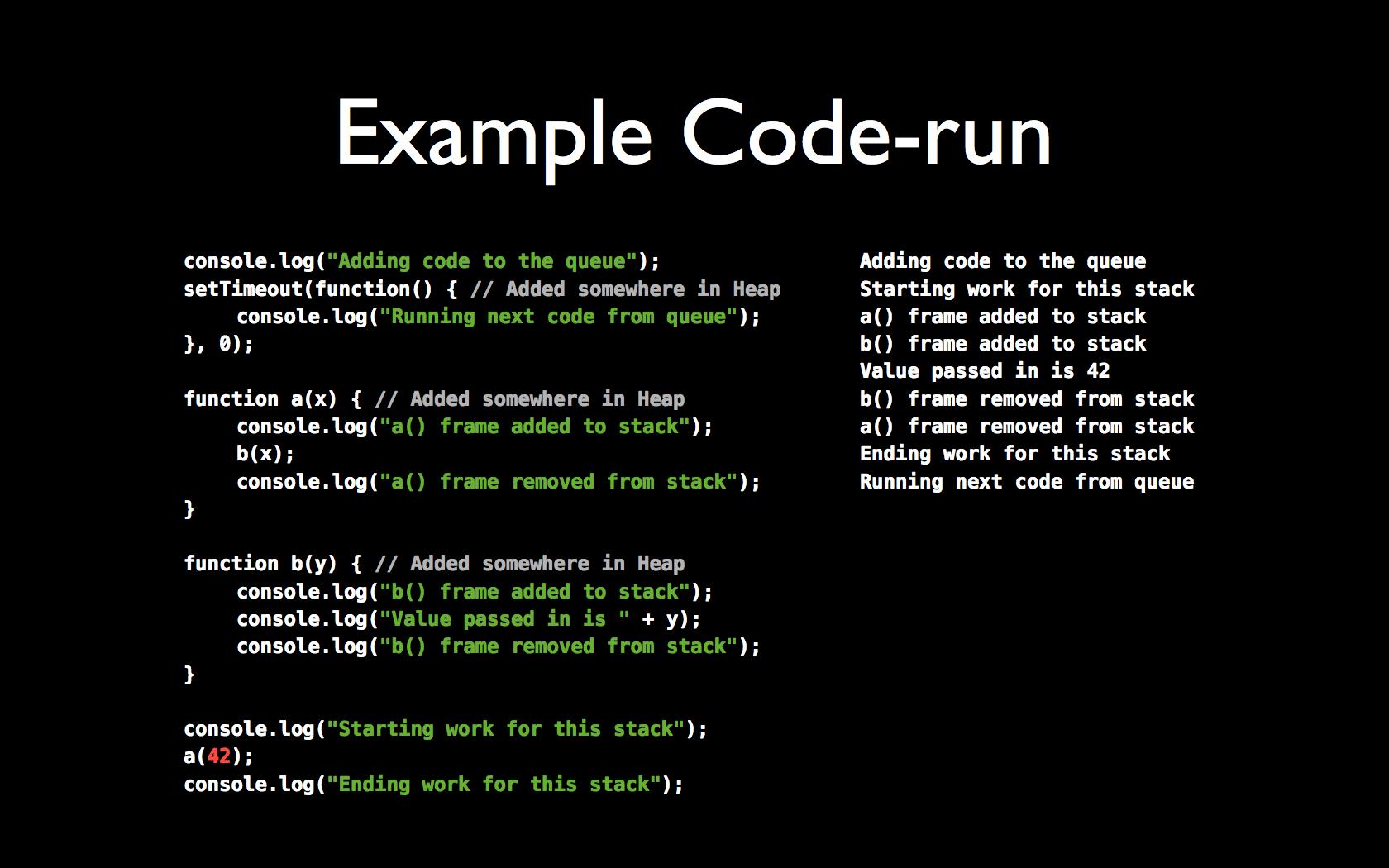 The JavaScript Event Loop [Presentation] - Thomas Hunter II