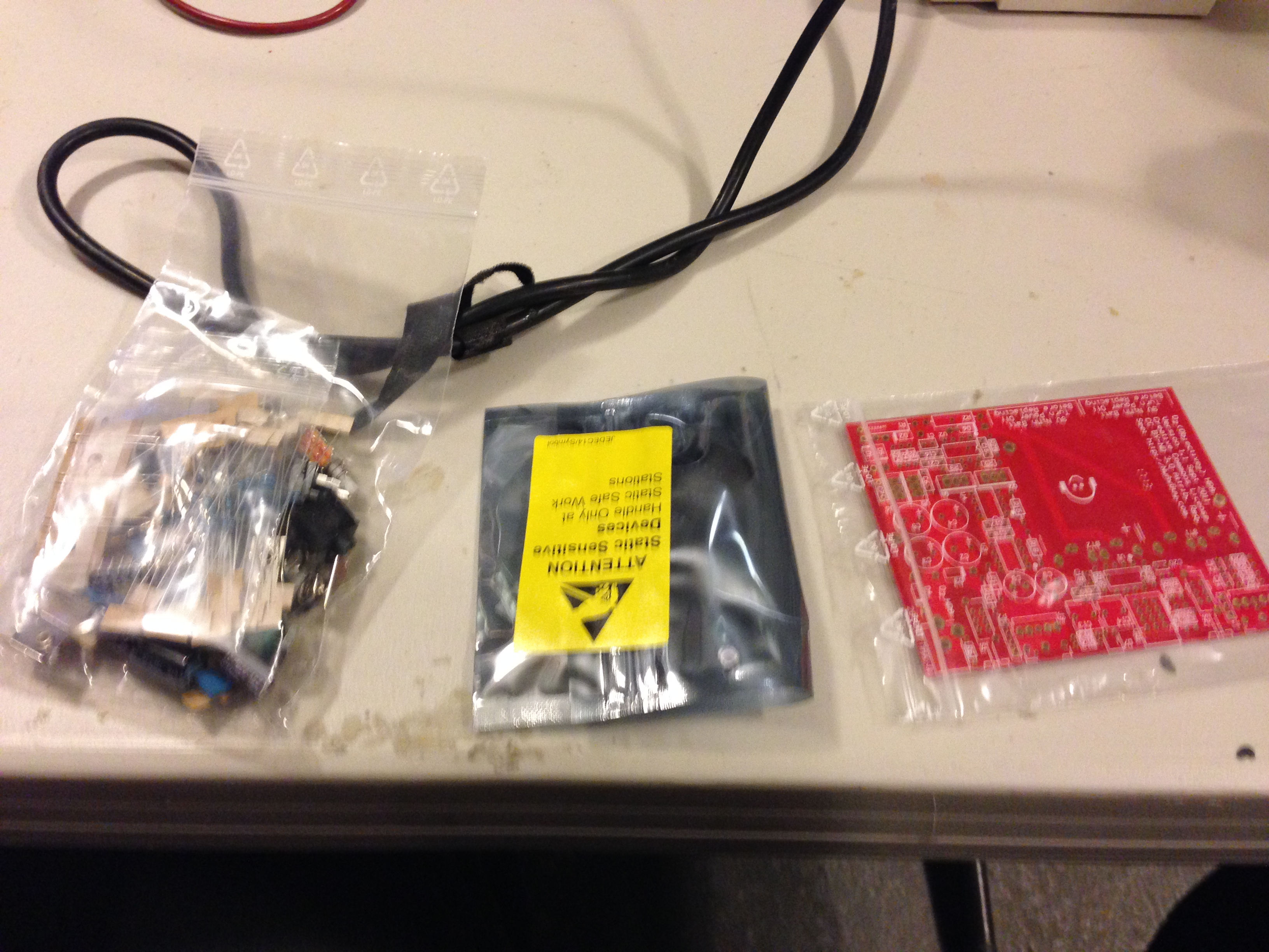 O2 Headphone Amplifier - Part Bags