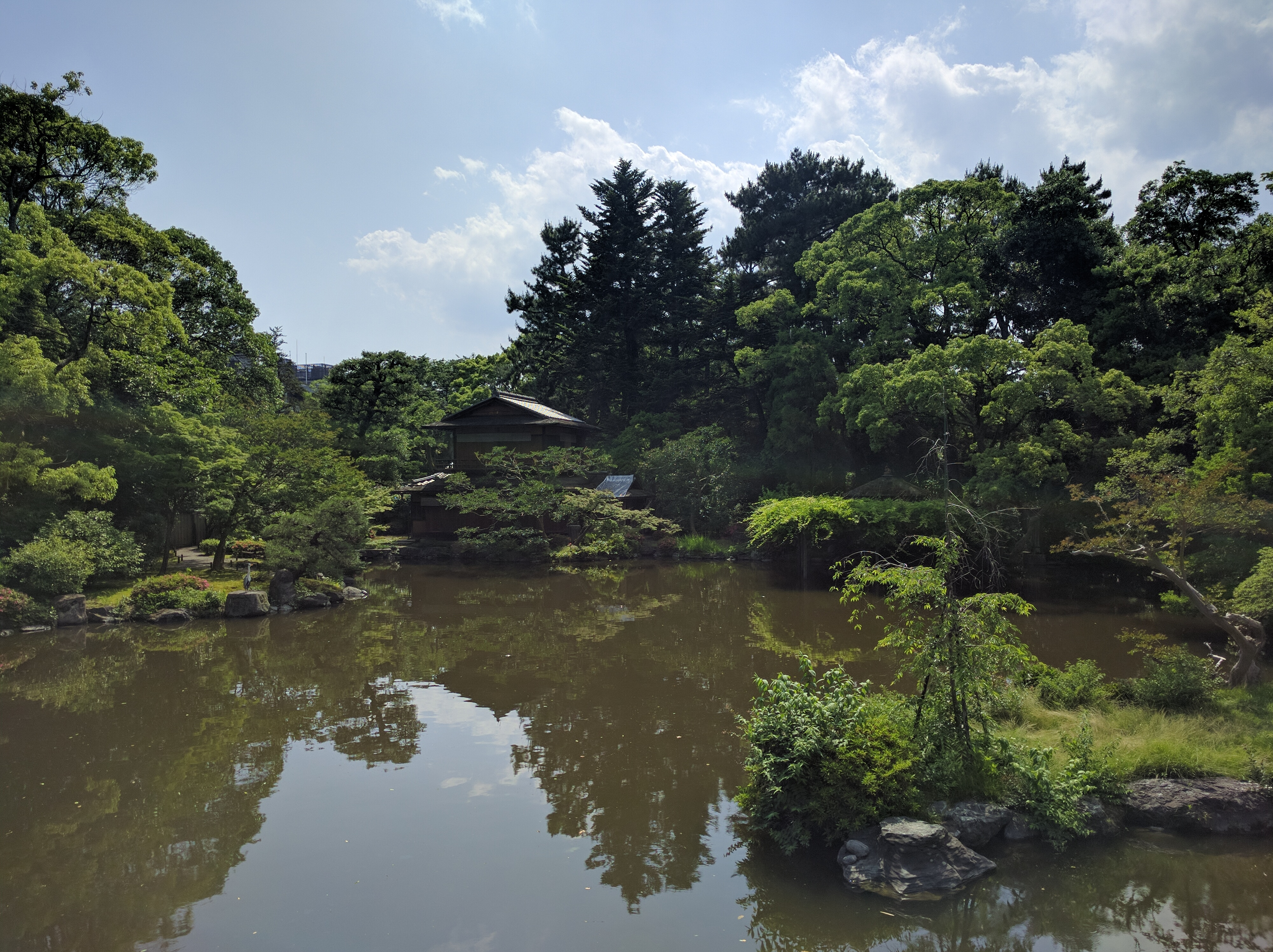 Kyoto Imperial Palace Pond